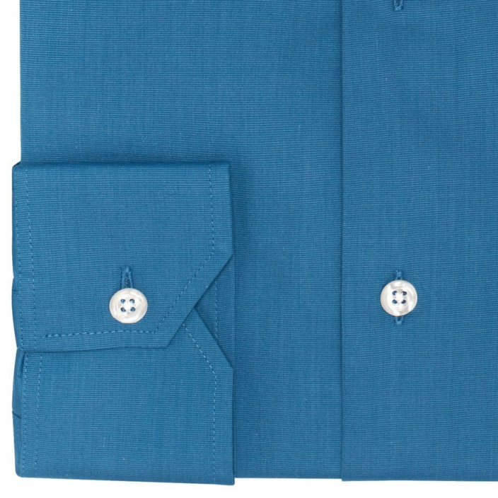 Extra-Slim Petrol Blue Shirt