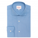 Extra-Slim Dark-Blue Shirt