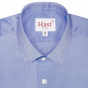 DARK-BLUE SHIRT WITH FRENCH COLLAR