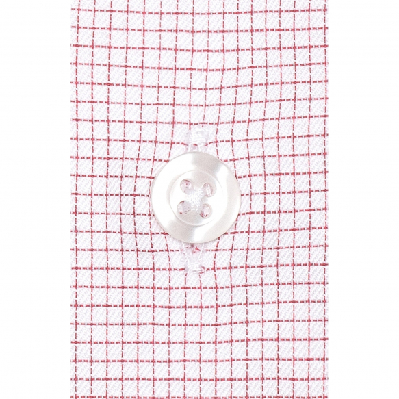 RED SMALL CHECK SHIRT