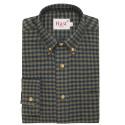 Green Check Flannel Shirt