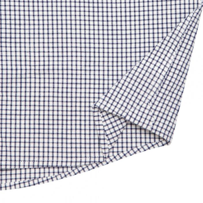 Blue check casual shirt