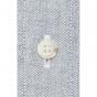 Chemise flanelle gris-bleu ultra épaise