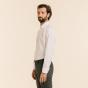 Classic fit white poplin shirt