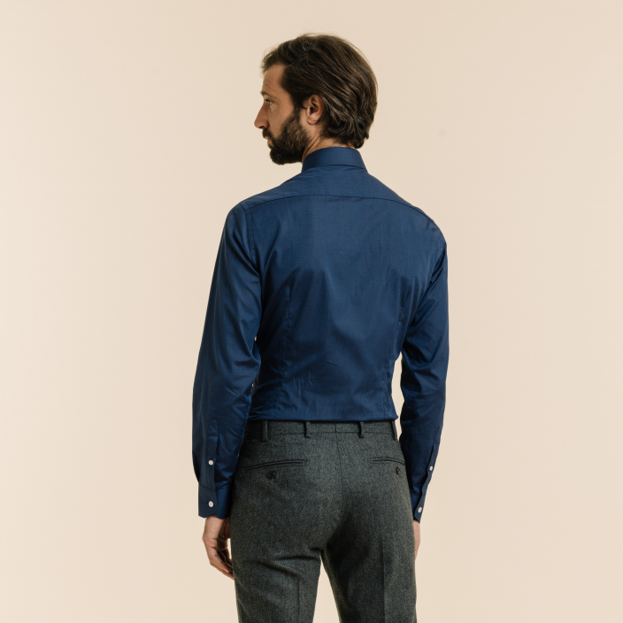 Extra-Slim Midnight Blue Shirt