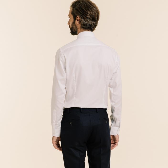Premium Travel extra-slim white shirt