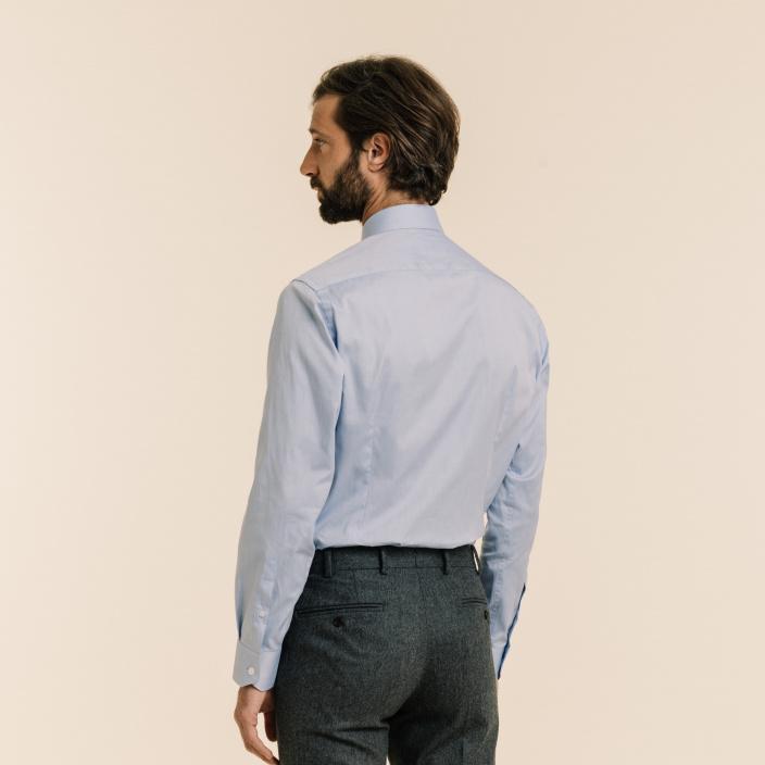 Extra-Slim Blue Shirt