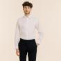 Slim fit premium white twill shirt