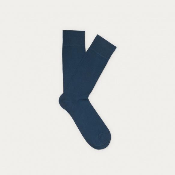 Chaussettes bleu nuit