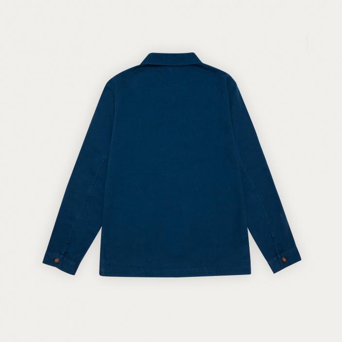 Blue worker's jacket