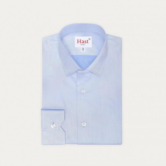 Blue Plain Shirt With...
