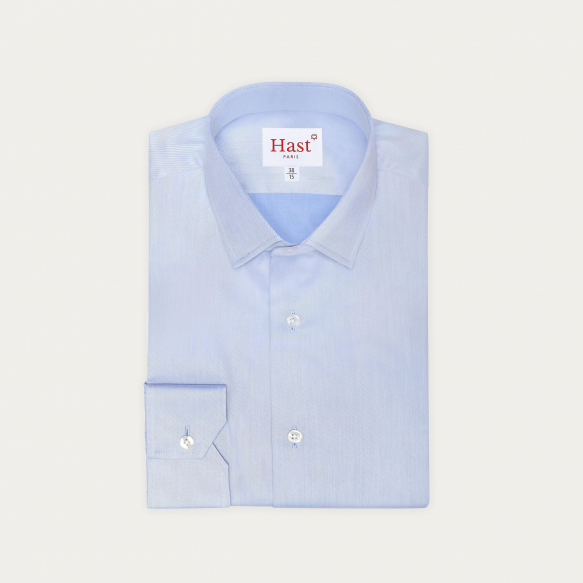 Blue Plain Shirt With...