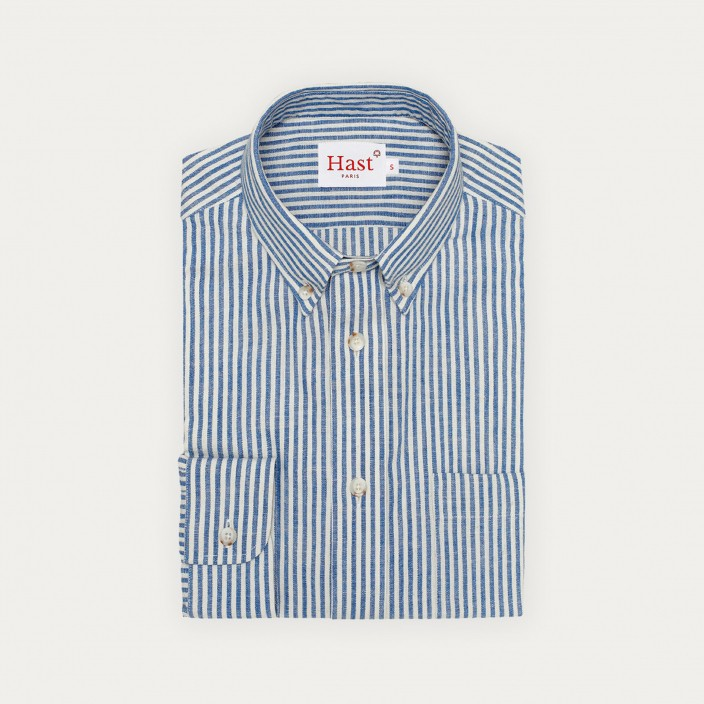 Japan blue stripe shirt
