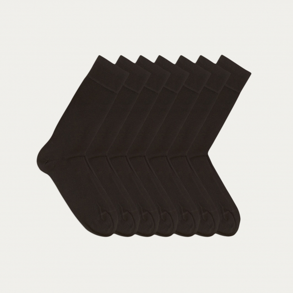 Semainier de chaussettes noires
