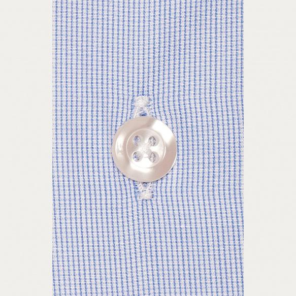 Blue Check Semi Plain Shirt