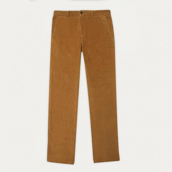 Camel corduroy chino pants