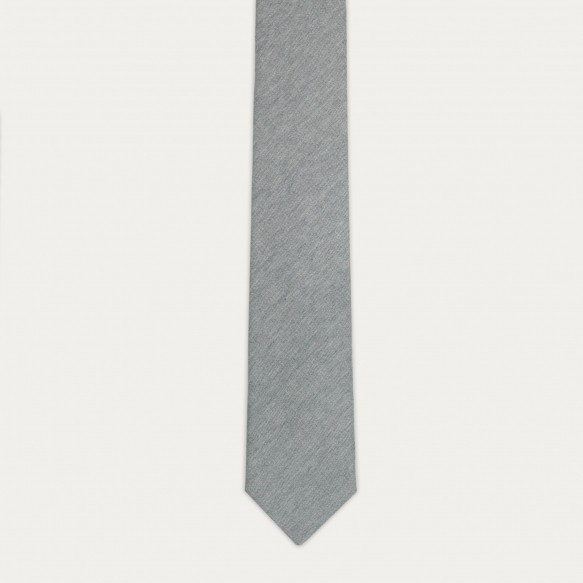 Grey flannel tie