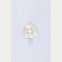 Classic fit fil-à-fil light blue shirt with French cuffs