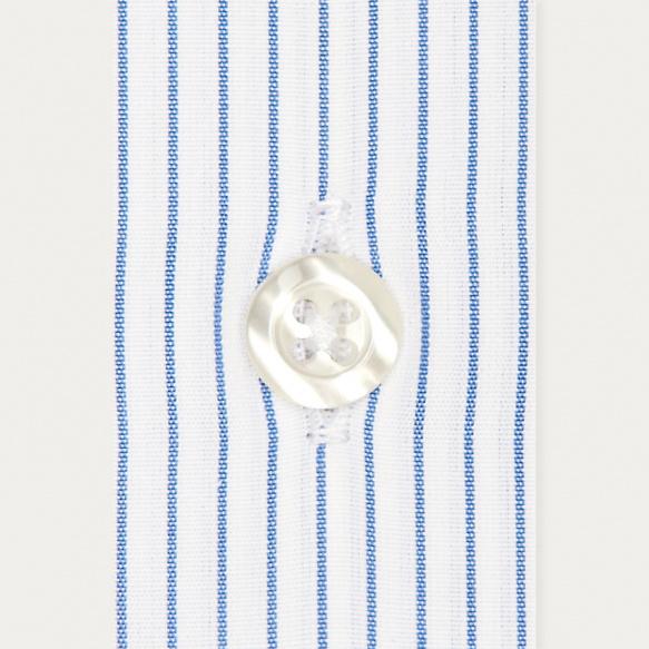 Slim fit thin blue stripes...
