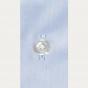 Chemise classique en twill bleue