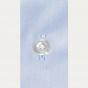 Premium classic fit twill blue shirt
