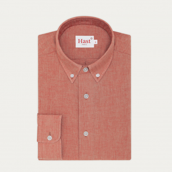 Red Japanese chambray...