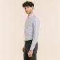 Classic fit thin blue stripes oxford shirt