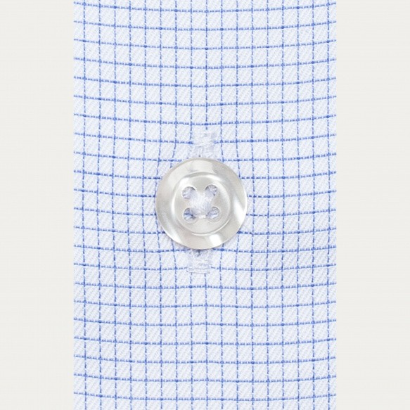 Classic fit thin blue check...