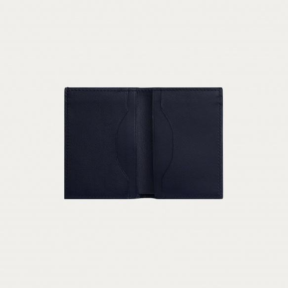 Foldable navy blue holder