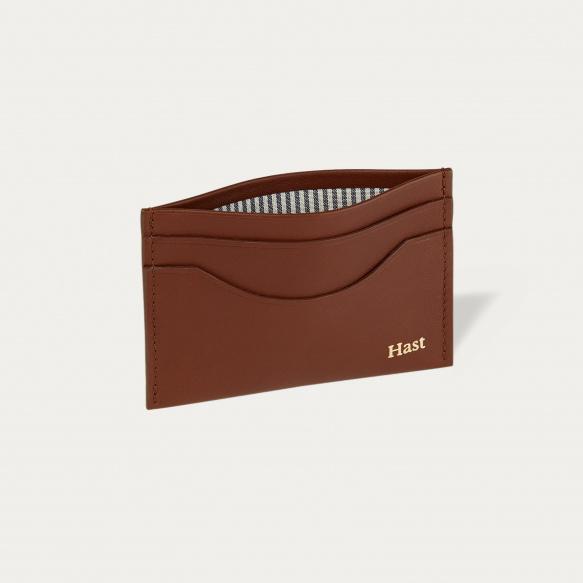 Brown cards holder
