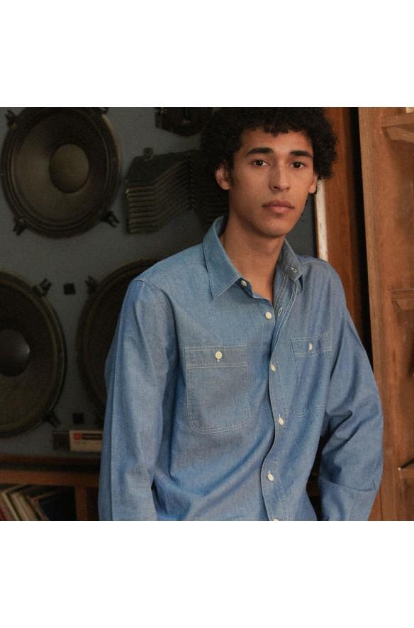 Chemises en chambray : découvrez notre sélection | Hast