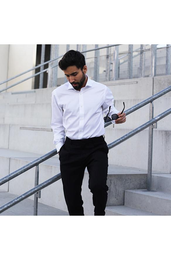 Natural cotton stretch shirts